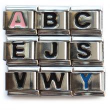 Звенья с буквами (алфавит)